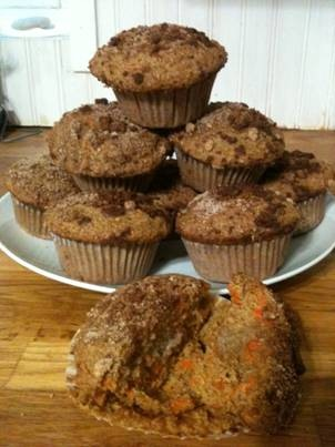 Good as Gone Carrot Muffins – Karla Doyle