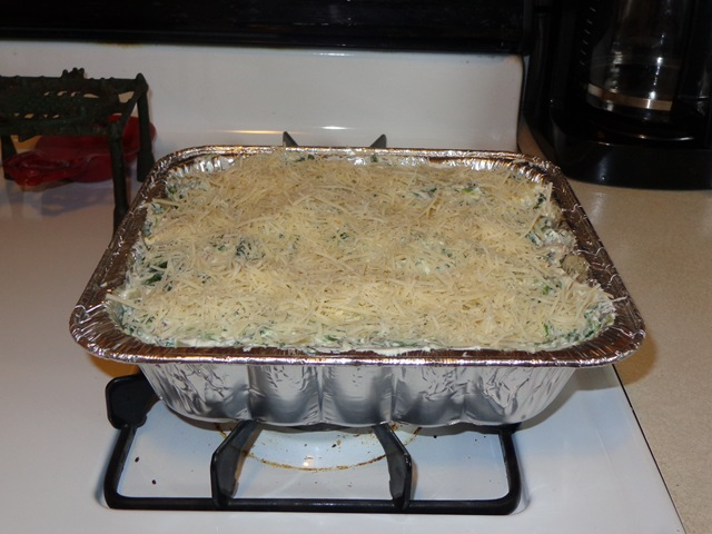 Holiday Spinach/Artichoke Casserole – Barbara Longley