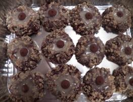 Chocolate Thumbprints – Tara Nina