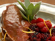 Sautéed Duck Breast with Berry Sauce – Ruth A. Casie
